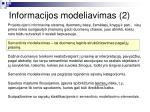 informacijos modeliavimas 2