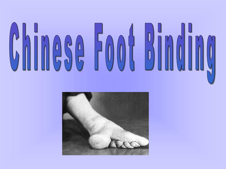 Chinese Foot Binding