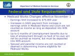 federal and state requirements10