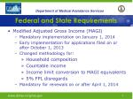 federal and state requirements2
