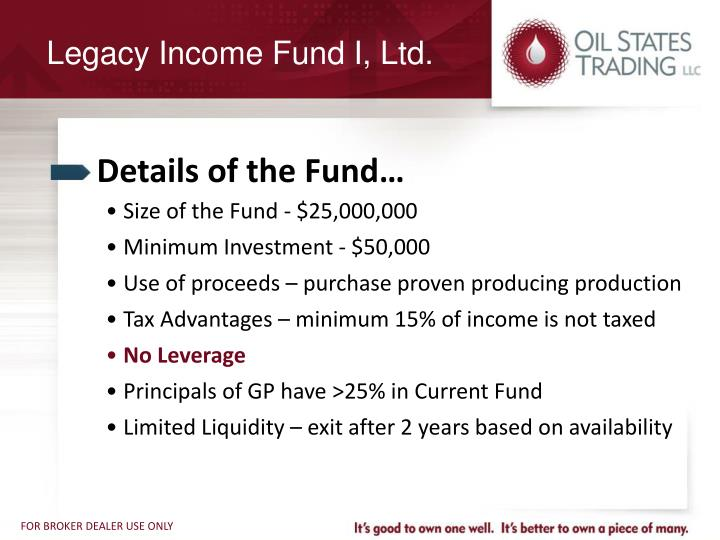 Details of the Fund…