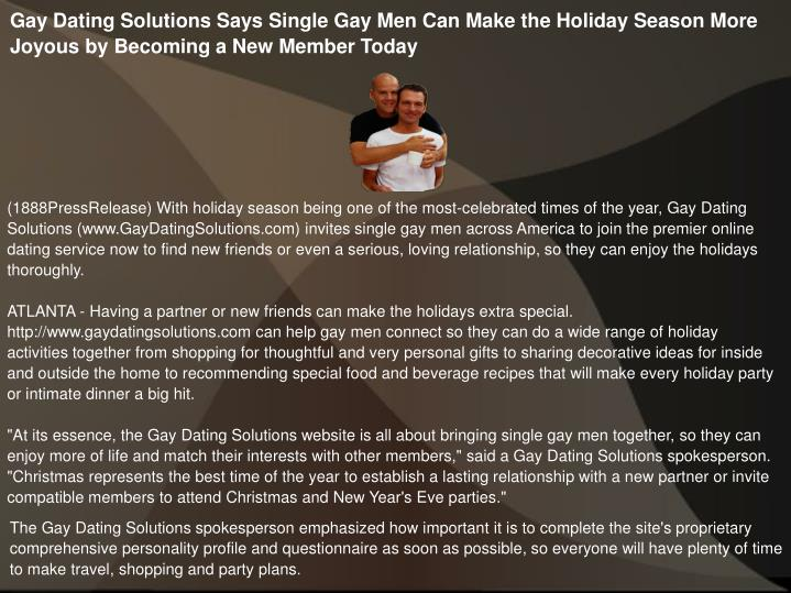 gay dating service atlanta Maybe you haven't had success with the gay mixers and events, gay online dating sites, gay singles and dating services, gay bars, or any of the services that claim to cater to the gay community or maybe you don't even want to try those options.