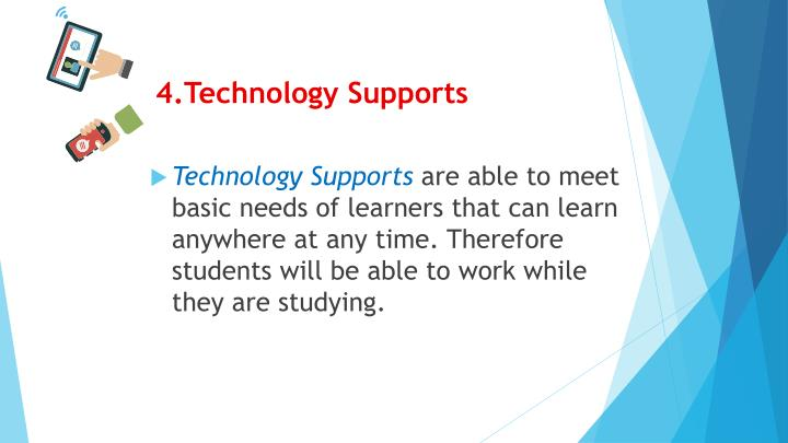 4.Technology Supports