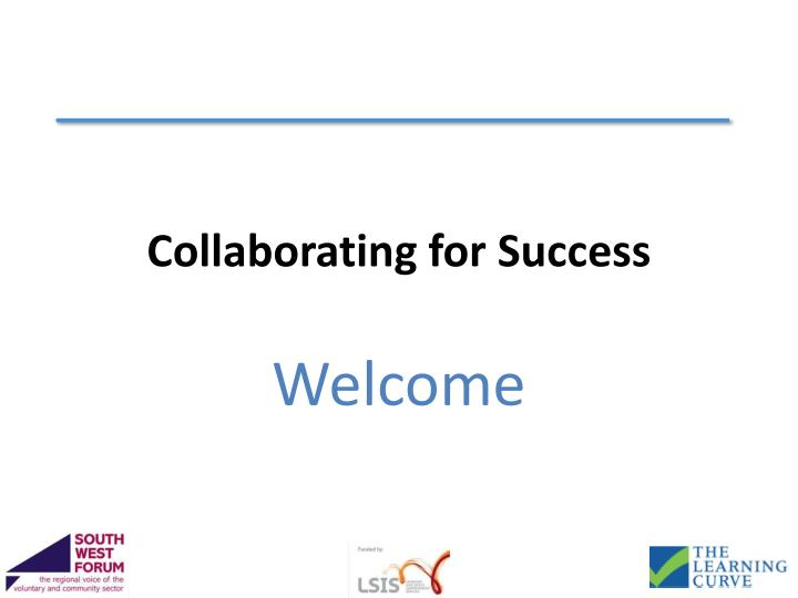 collaborating for success n.