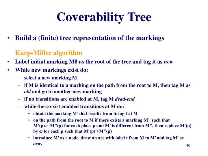 Coverability Tree