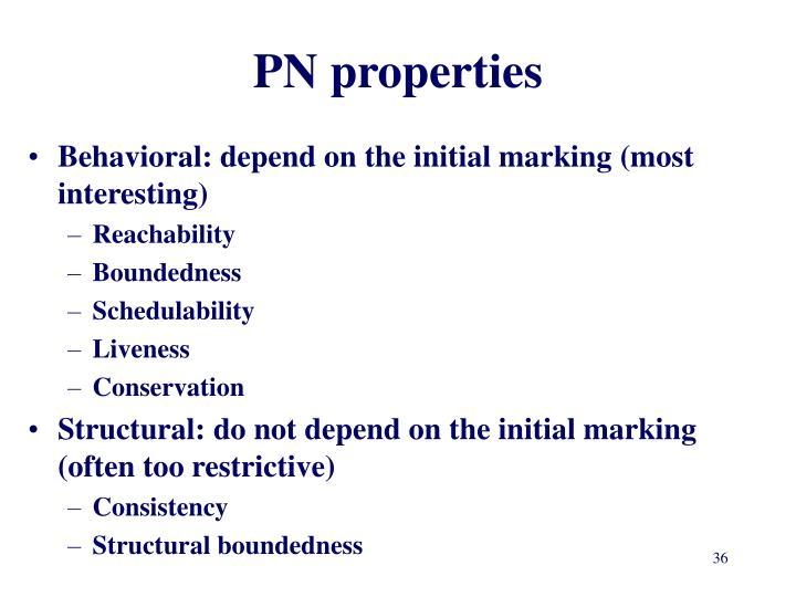 PN properties