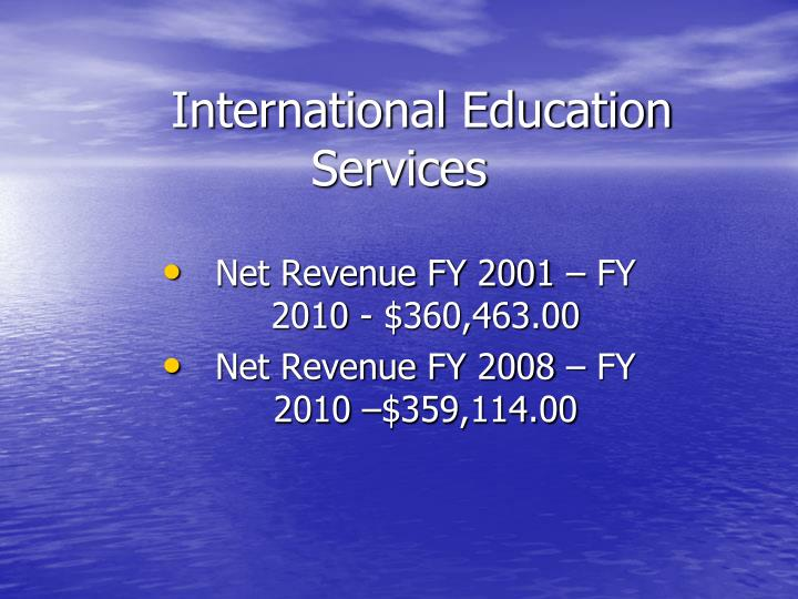 international education services n.