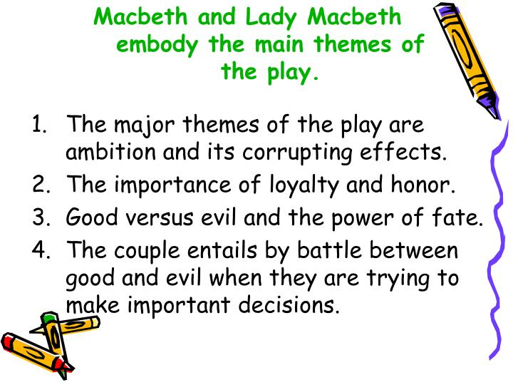 macbeth relationship essay