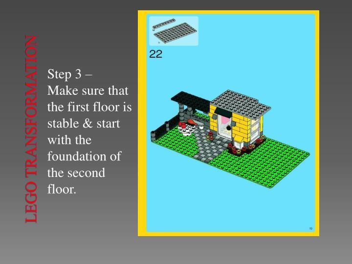 Lego transformation2