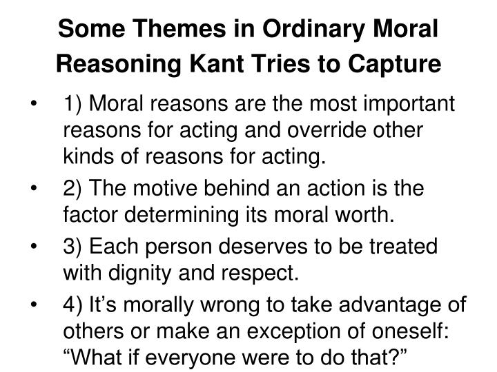 describe your definition of moral reasoning Moral reasoning, however, is a part of morality that occurs both within and between individuals moral reasoning can be defined as being the process in which individuals try to determine the difference between what is right and what is wrong by using logic,[3] this is an important and often.