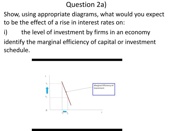 Ppt econ 100 tutorial week 19 powerpoint presentation id6134882 show using appropriate diagrams what would you expect to be the effect of a rise in interest rates on ccuart Images