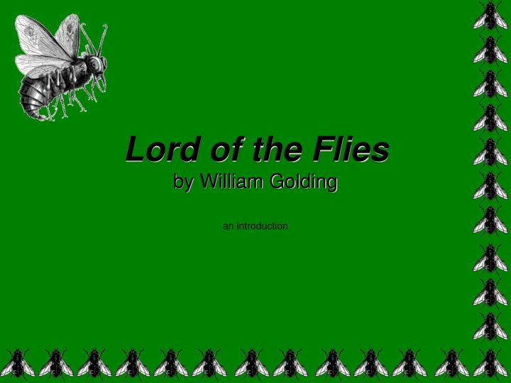 lord of the flies by william golding n.