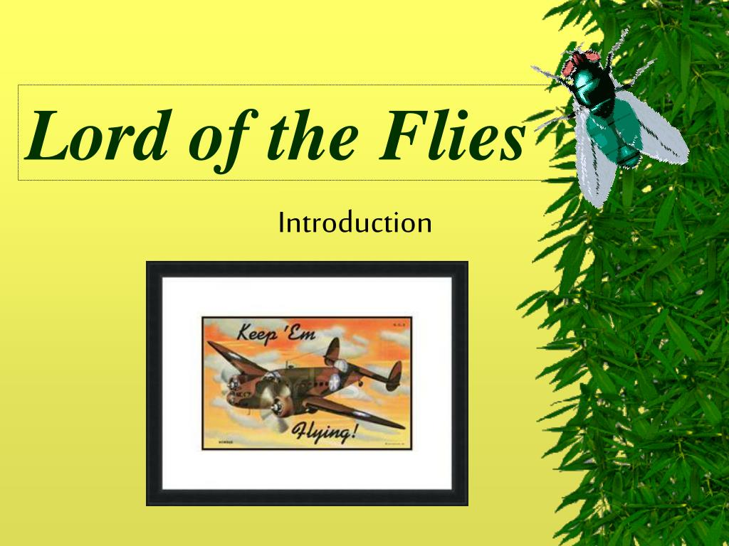 lord of the flies introduction