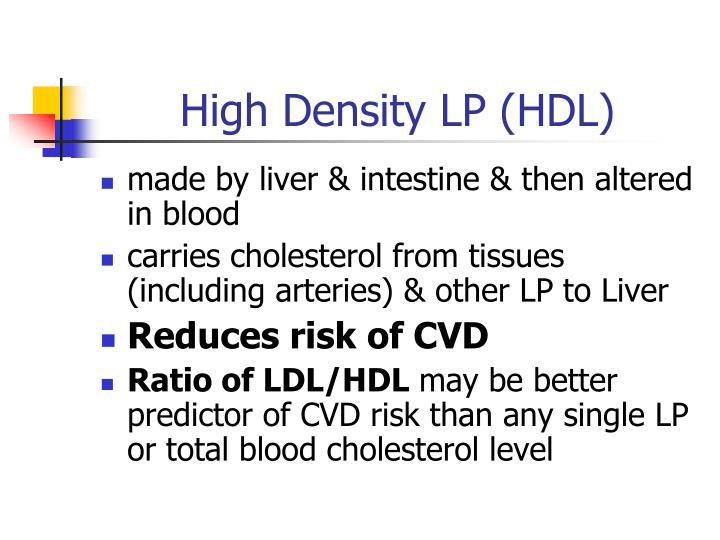 High Density LP (HDL)