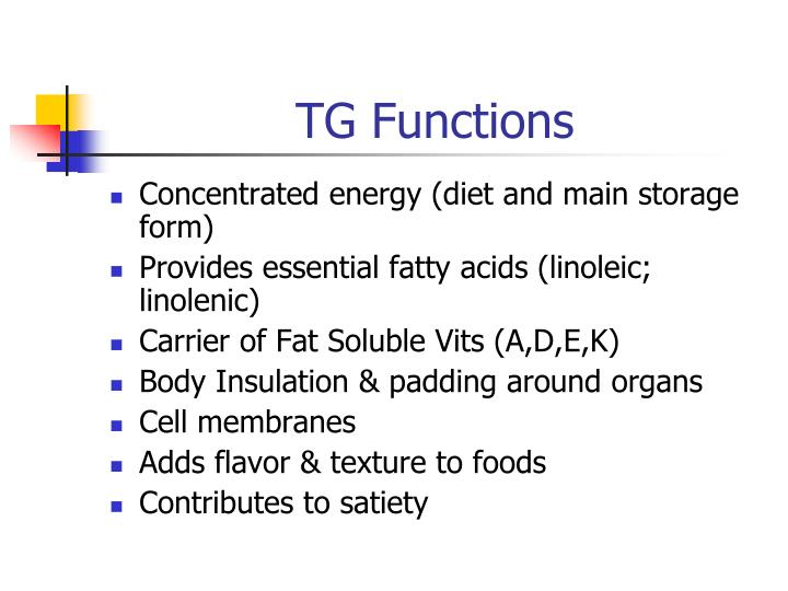 TG Functions