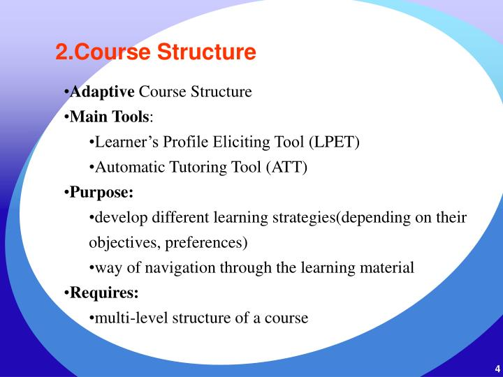 2.Course Structure