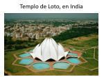 templo de loto en india