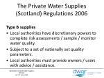 the private water supplies scotland regulations 20061