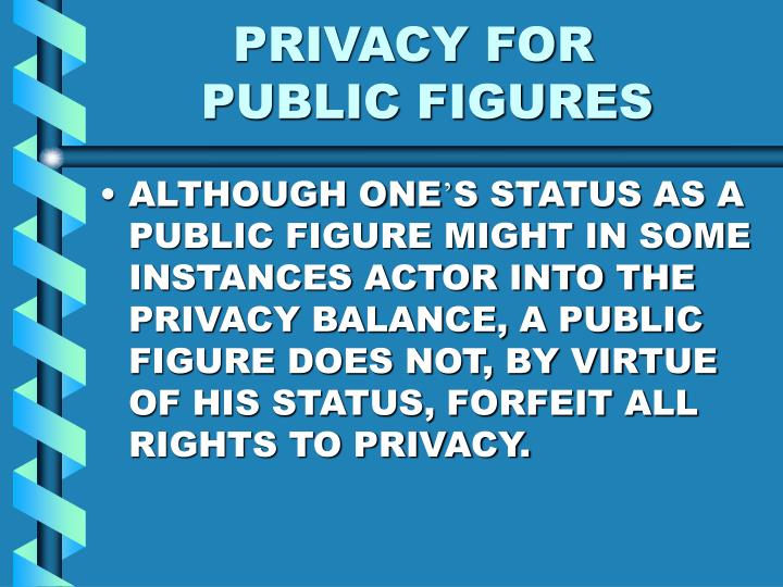 PRIVACY FOR