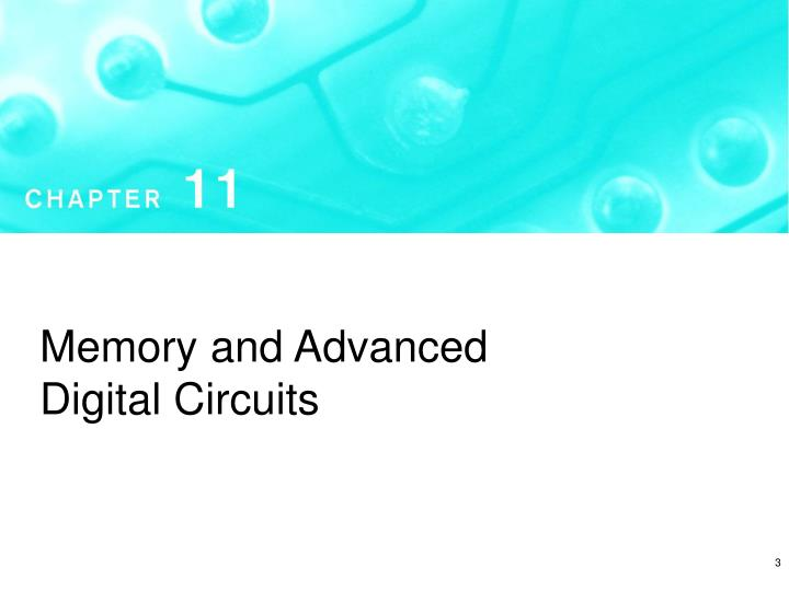 Memory and Advanced