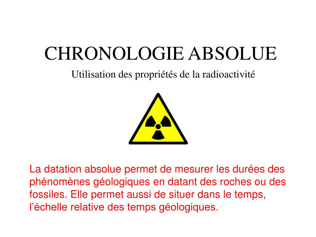 Absolu datant PPT
