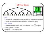 kd tree query