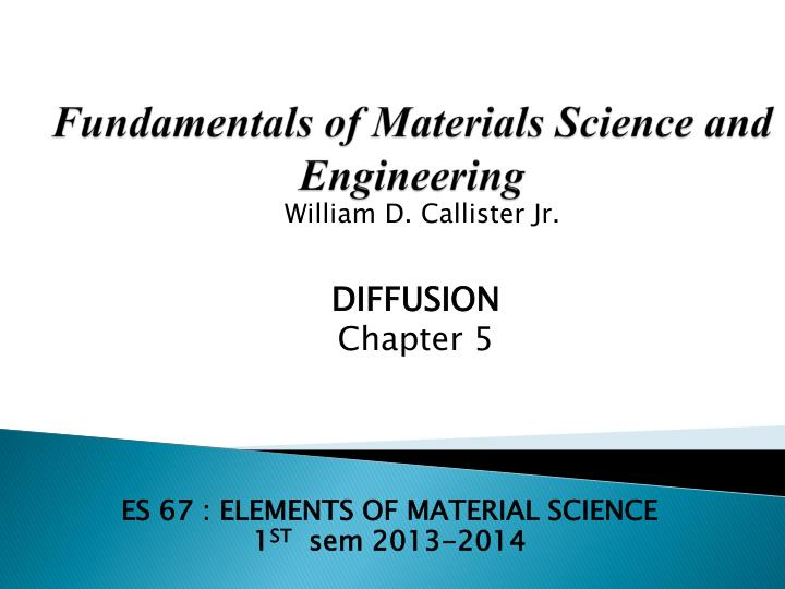 Materials Science and Engineering an Introduction 8th ...