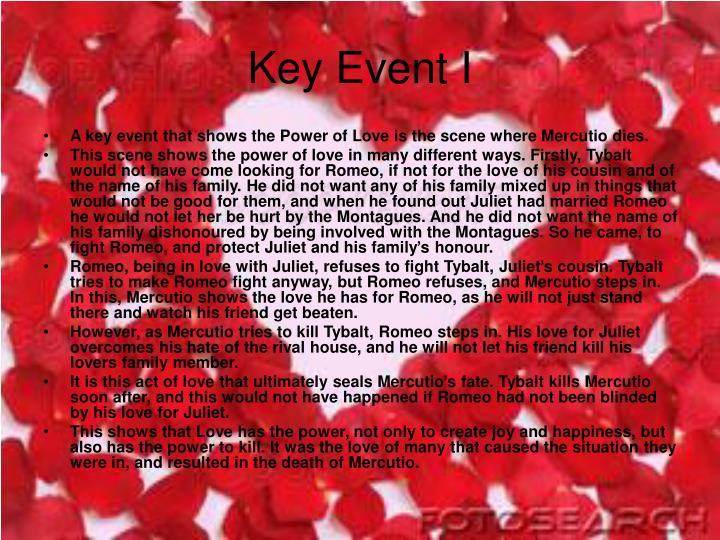 Key Event I