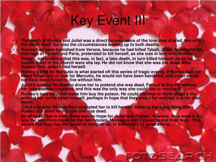Key Event III