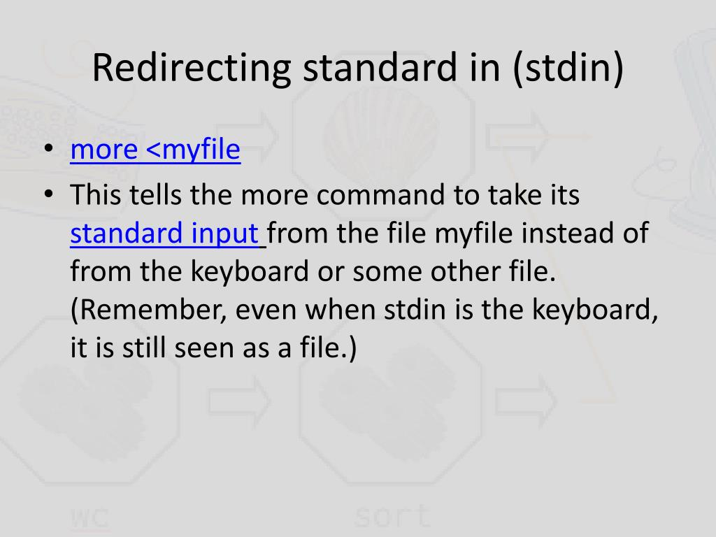 PPT - Pipes and Redirection in Linux PowerPoint Presentation