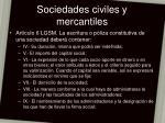 sociedades civiles y mercantiles10
