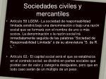 sociedades civiles y mercantiles14