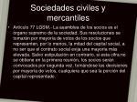 sociedades civiles y mercantiles16