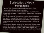 sociedades civiles y mercantiles23