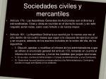 sociedades civiles y mercantiles25