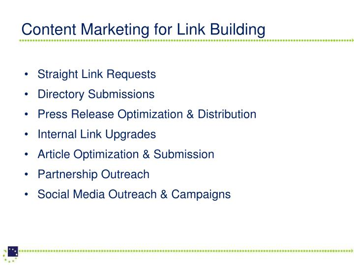 Content Marketing for Link Building