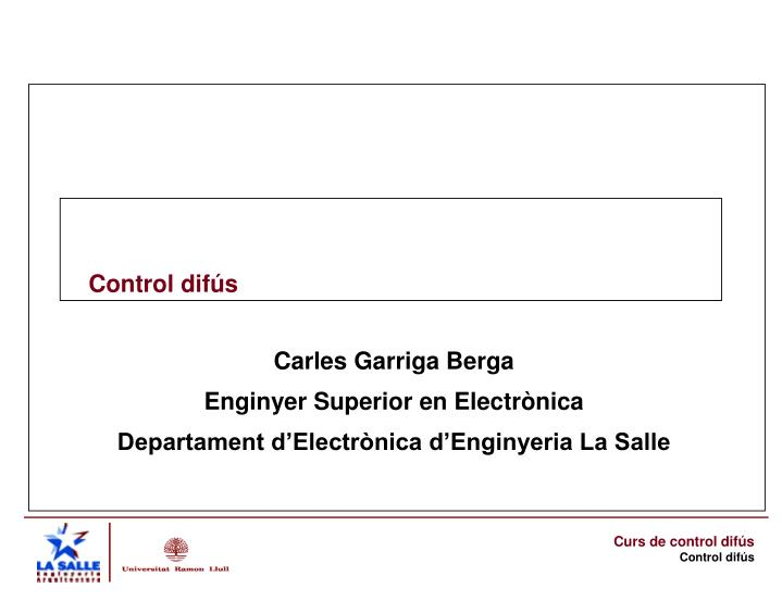 control dif s n.