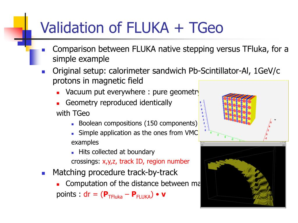 PPT - VMC: GEANT3 and FLUKA interfaces status PowerPoint