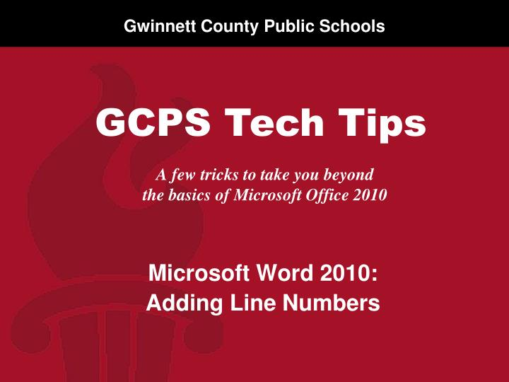 a few tricks to take you beyond the basics of microsoft office 2010