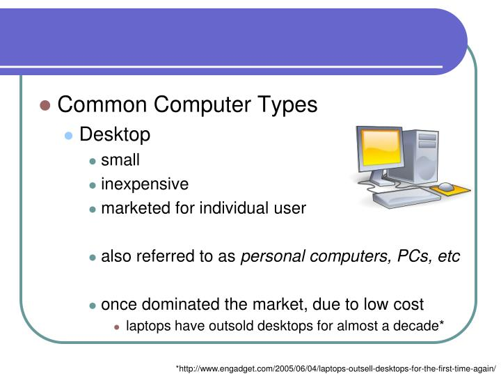 Common Computer Types