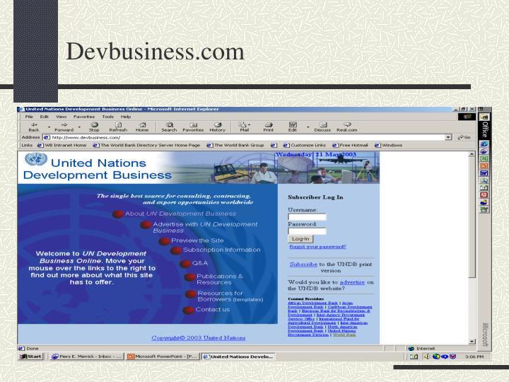 Devbusiness.com