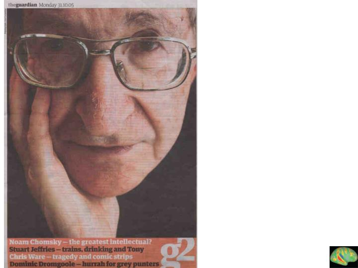 Chomsky pic in guardian