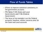 flow of funds tables