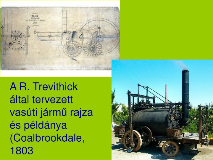 1803 Trevithick London Steam Carriage
