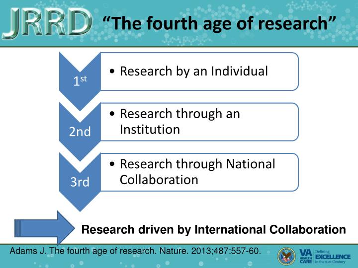 """""""The fourth age of research"""""""