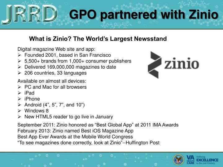 GPO partnered with