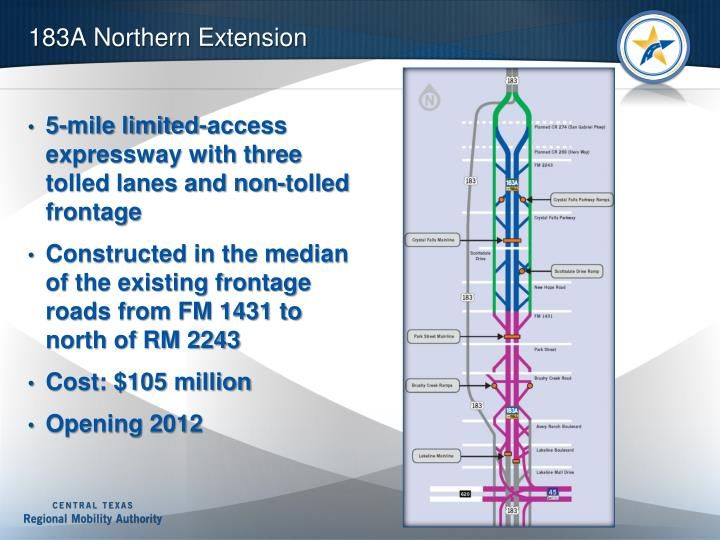 183A Northern Extension