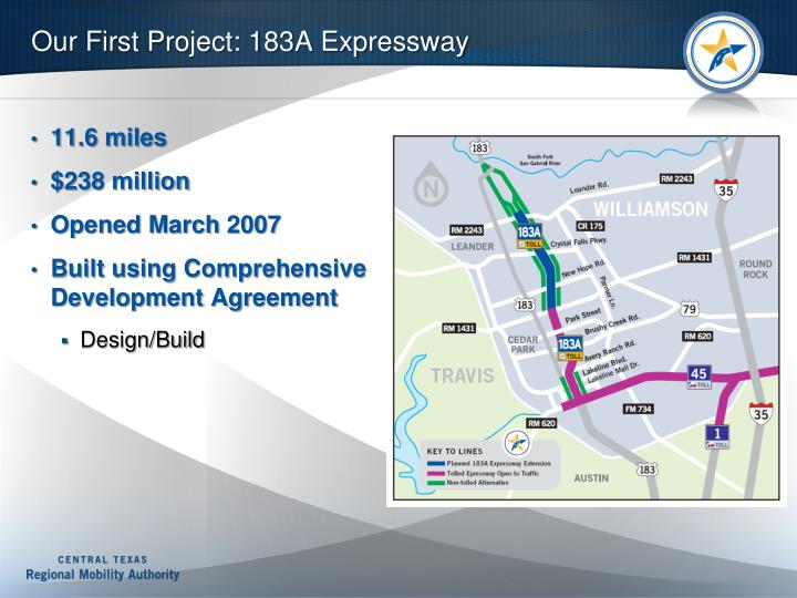 Our First Project: 183A Expressway