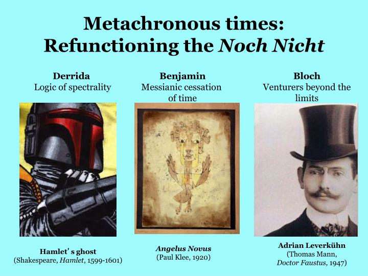 Metachronous times: Refunctioning the