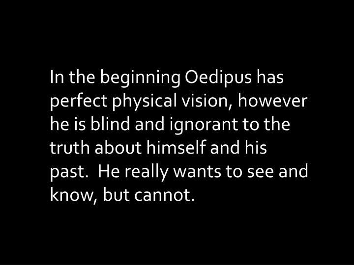 oedipus blinds himself